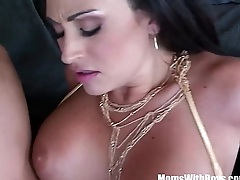 Of age Claudia Valentine Gags Over Pole Dancing Instructor
