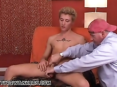 Boy big cock and hard bubble butt