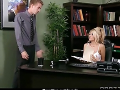 Office assistant getting fucked hard 8