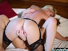 Hard Play With Sex Dildos Between Homoerotic Girls (mia&amp_sami&amp_j) mov-29