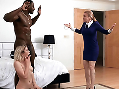 Khloe Capri gets caught hither her new stepdad Jax Slayher