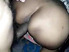 Downcast desi girl Priya Ass fucking in White Printed Kurta