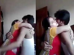 desi couple romance in bedroom after fuck