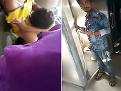Desi Couple Pussy Licking Increased by Fucking Inside Toilet of Train Secretly Recorded by Co-passangers