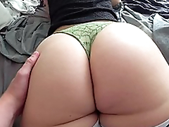 Young Russian mom with big booty fucked by XXX partner from behind
